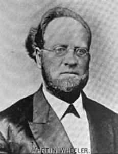Rev Martin Wheeler