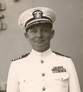 Donald on USS Huntington
