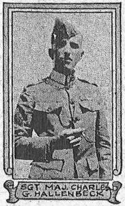 Sgt Maj Charles C Hallenbeck